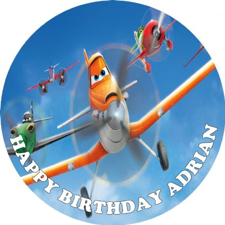 Planes Edible Cake Topper